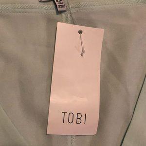 Tobi Dresses - NWT TOBI Mint Green Dress